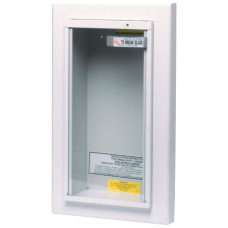 Extinguisher Cabinets Semi Recessed steel Tan