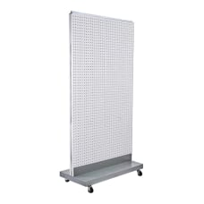 Azar Displays 2 Sided Double Pegboard