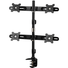 Amer Mounts Clamp Based Quad Monitor