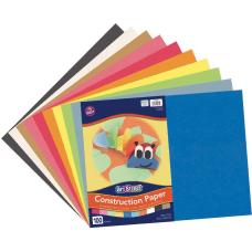Rainbow Super Value Construction Paper 12