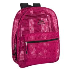 Trailmaker Girls Classic 9695 Mesh Backpacks