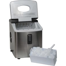 Chard Stainless Steel Ice Maker 35
