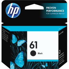 HP 61 Black Ink Cartridge CH561WN