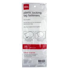Office Depot Brand Fastener Locks 5