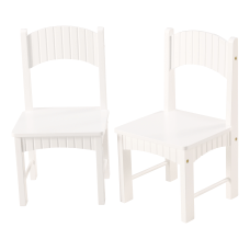 Linon Tallulah Youth Chairs White Set