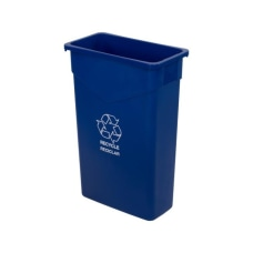 Carlisle TrimLine Recycle Can 23 Gallons