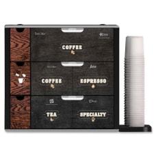 Alterra Coffee Shop Merchandiser Counter Black