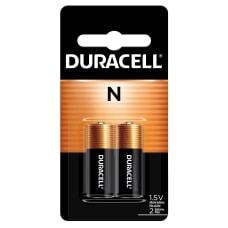 Duracell 15 Volt Alkaline N Batteries