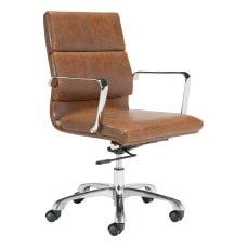 Zuo Modern Ithaca Mid Back Chair