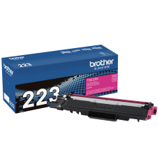 Brother Genuine TN 223M Magenta Toner