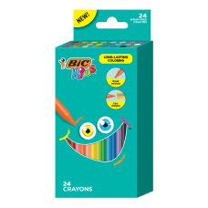 BIC Kids Coloring Crayons Assorted Colors