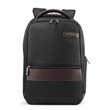 Samsonite Kombi Slim Laptop Backpack BlackBrown