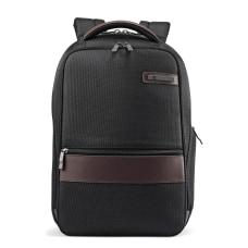 Samsonite Kombi Slim Laptop Backpack BlackBrown