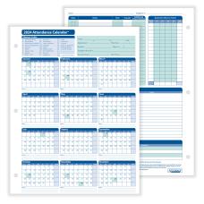 ComplyRight 2021 Attendance Calendar Cards 8