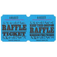 Amscan Raffle Ticket Roll Blue Roll
