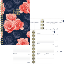Blueline Stardust Academic Weekly Monthly Planner