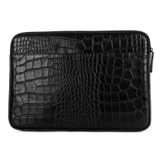 Bugatti Vegan Leather Laptop Sleeve With