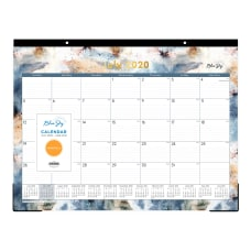 Blue Sky Flint Monthly Desk Pad