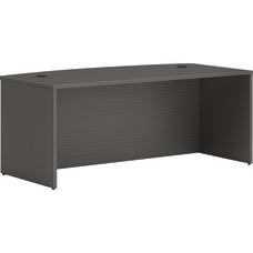 HON Mod Bowfront 72 W Desk