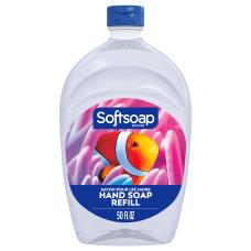 Softsoap Aquarium Design Liquid Hand Soap
