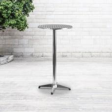Flash Furniture Round Folding Bar Table