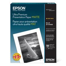 Epson Archival Matte Photo Paper Letter