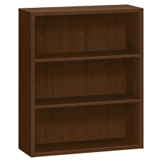 HON 10500 Series Bookcase 3 Shelves