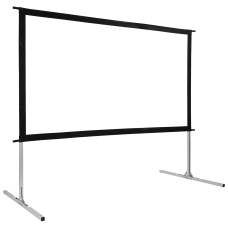 GPX IndoorOutdoor Floor Stand Projector Screen