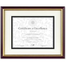DAX Document Certificate Frame With Matte
