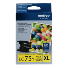 Brother LC75Y High Yield Yellow Ink