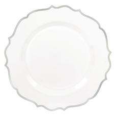 Amscan Ornate Premium Plastic Plates With