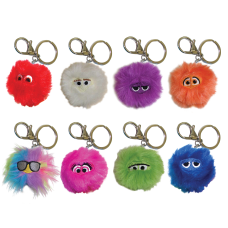 Inkology Key Chains Fluffles Pack Of