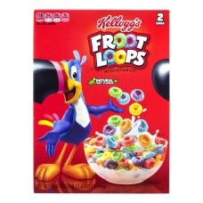 Kelloggs Froot Loops Cereal 436 Oz