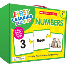 Scholastic First Learning Numbers Puzzles Pre