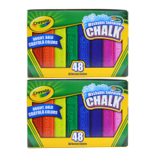 Crayola Washable Sidewalk Chalk Assorted Colors