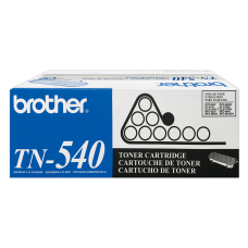 Brother TN 540 Black Toner Cartridge