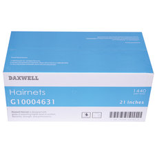 Daxwell Nylon Hairnets 21 Black 144