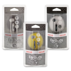 Maxell In Ear Earbuds with Microphone