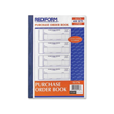 Rediform 2 Part Purchase Order Book