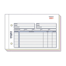 Rediform Carbonless Invoices 50 Sheets 3