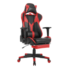 Lorell Foldable Footrest High Back Gaming