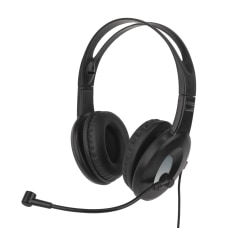 Ativa Wired Headset With Adjustable Microphone