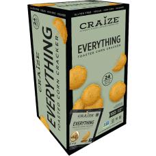 Craize Everything Toasted Corn Crackers 077