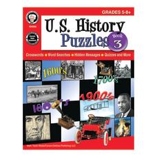 Mark Twain Media US History Puzzles