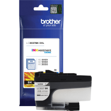 Brother INKvestment LC3037BK High Yield Black