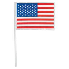 Amscan Patriotic Plastic American Flags 14