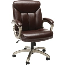 Essentials By OFM Ergonomic Bonded Leather