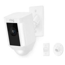 Ring Spotlight Wired 1080p IndoorOutdoor Mounted