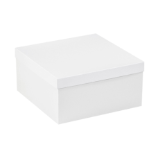 Partners Brand White Deluxe Gift Box