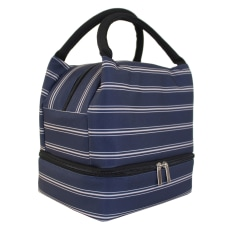 Office Depot Stripes Lunch Box With